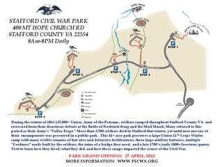 Stafford Civil War Park, Stafford Co. Virginia Gets two 3-inch Ordinance Rifles