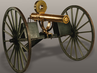 Private Collector Gets New All-Metal Gatling Gun Field Carriage, Model 1884