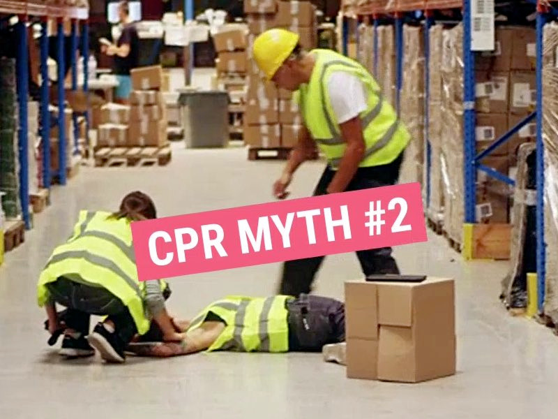 CPR Myth #2: I can wait for the ambulance arrive before starting CPR
