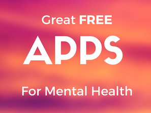 Great FREE Apps for Mental Health