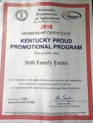 Proud to be Kentucky Proud