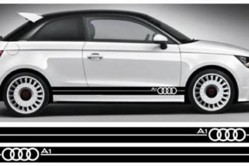 Audi A1 Ring Side Stripe Decals Edscustoms