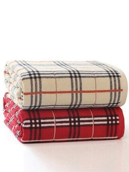 Tawny Check Towel