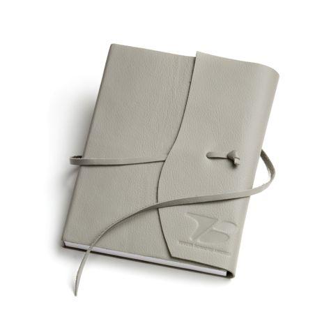 custom leather bound notebook