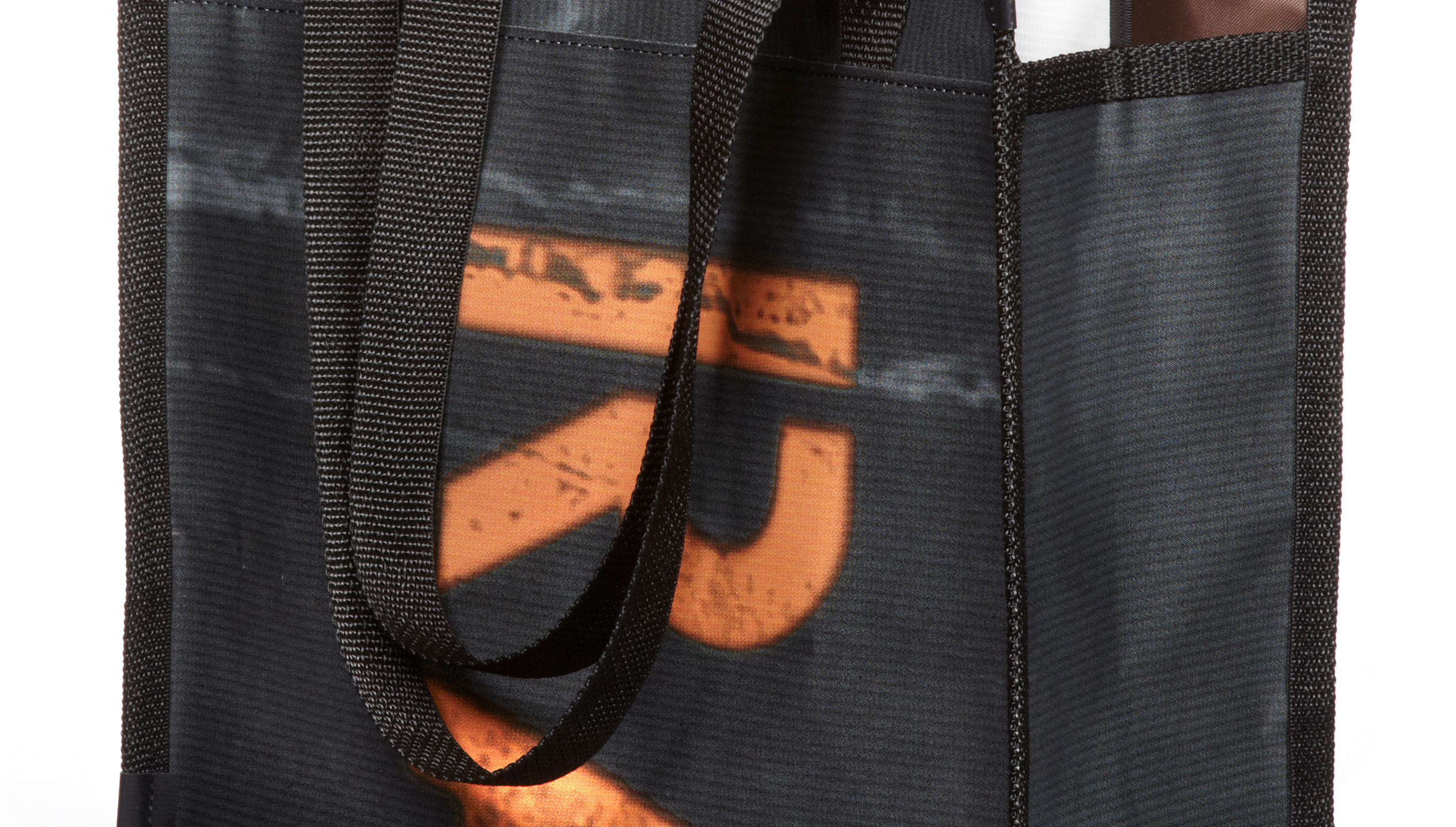 Re-purposed bag.