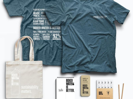 Client Spotlight: Boxed Water Sustainable Retail Items