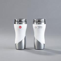 custom coffee cup with logo