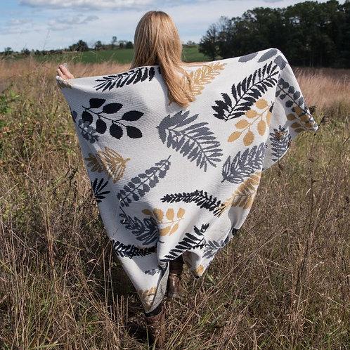Fern Throw Blanket
