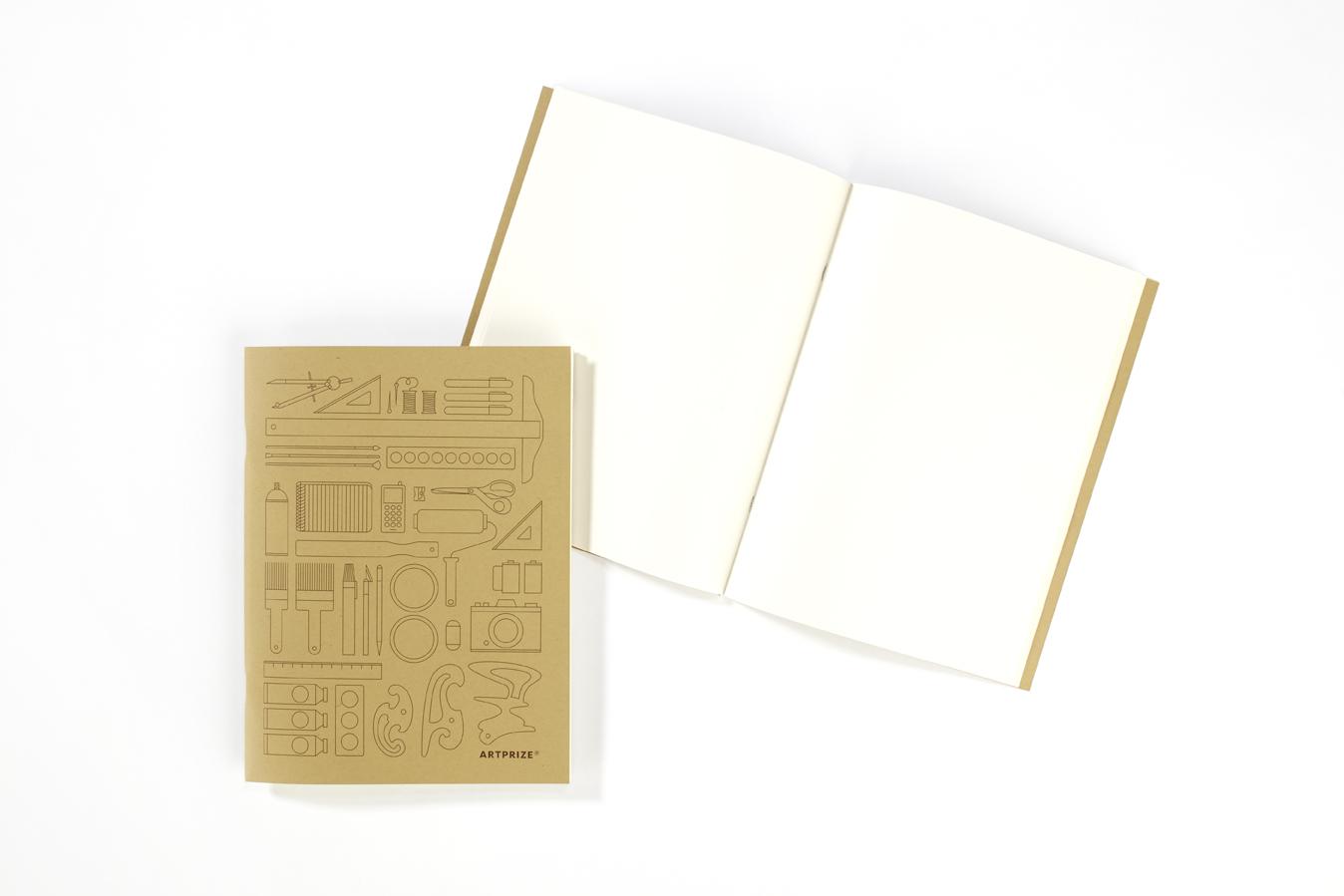 custom designed kraft journal