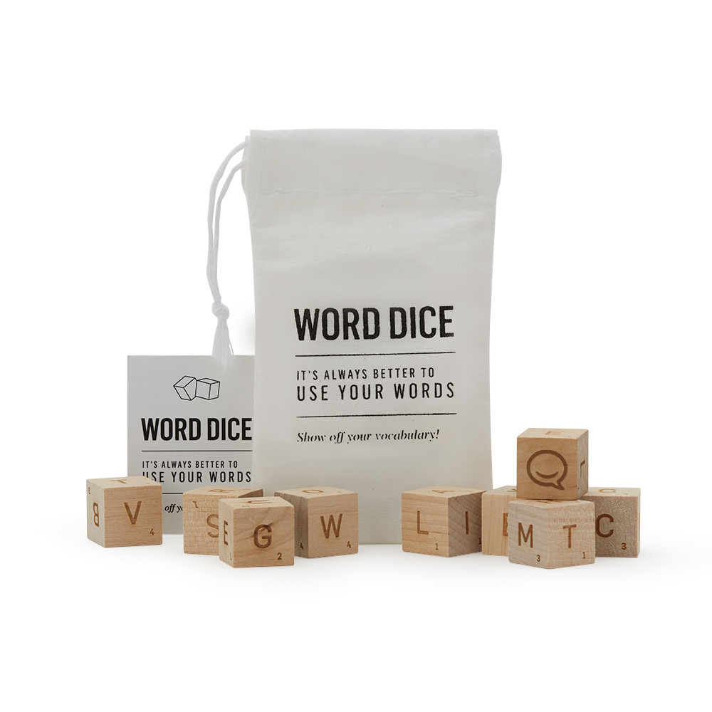 Word Dice Branded Merchandise