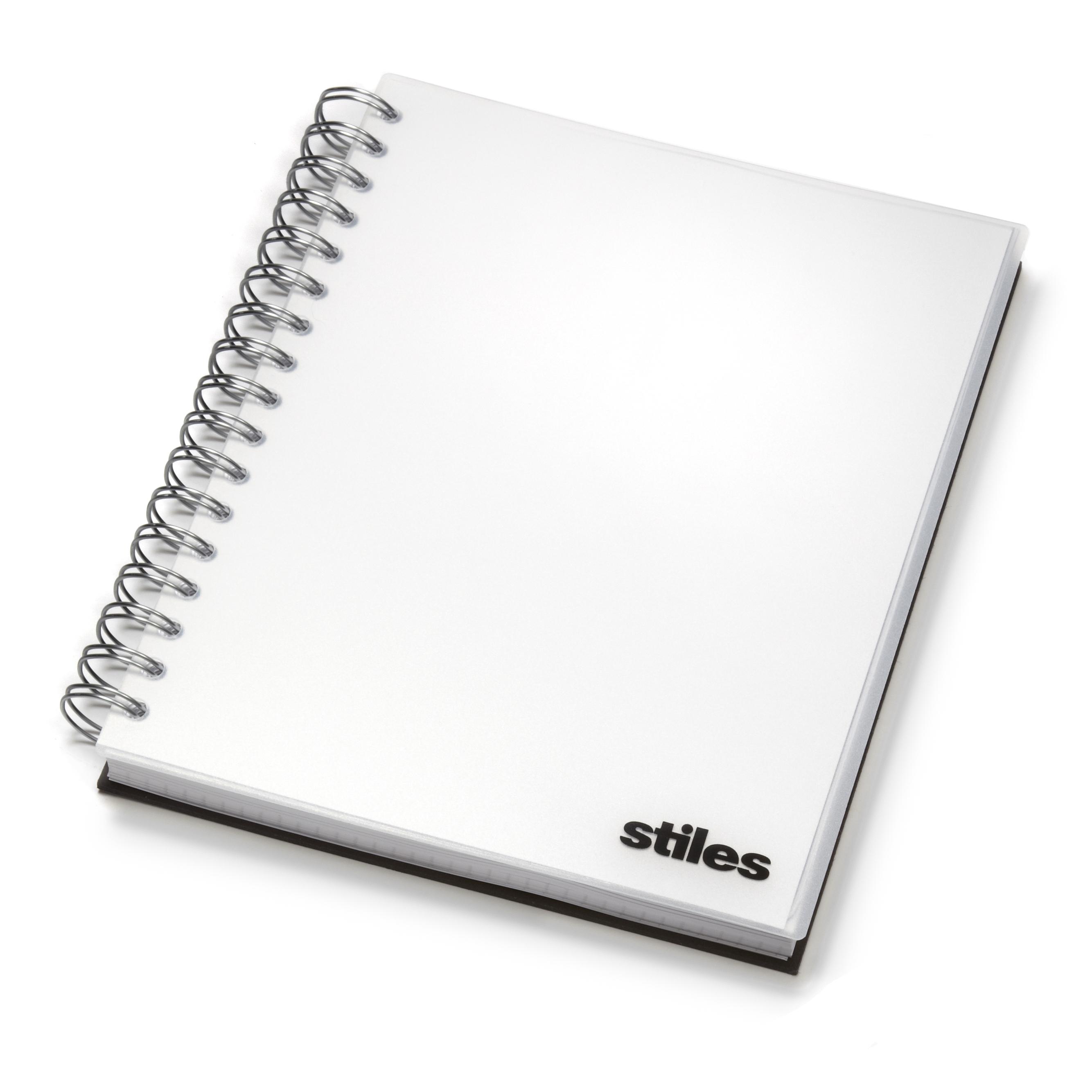 custom notebook with company logo