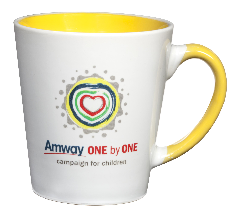 custom mug with logo and branding