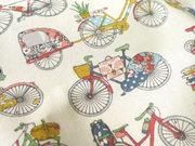 TI-44 Coton bicyclette multicolore