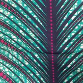 TI-13 Wax palmier rose-vert