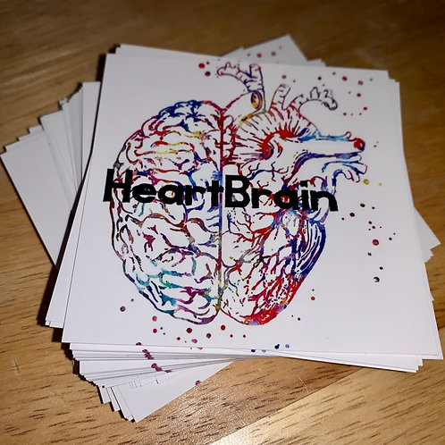 3x3 HeartBrain Sticker (3)