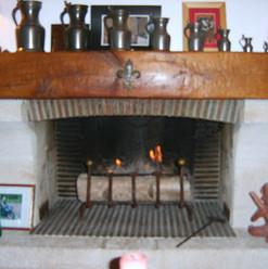 brûleur bio éthanol dans une cheminée