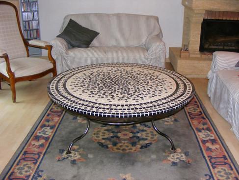 table en mozaic