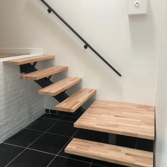 petit escalier sur mesure