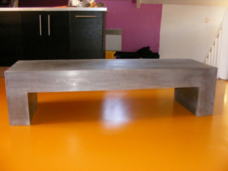 table acier brut