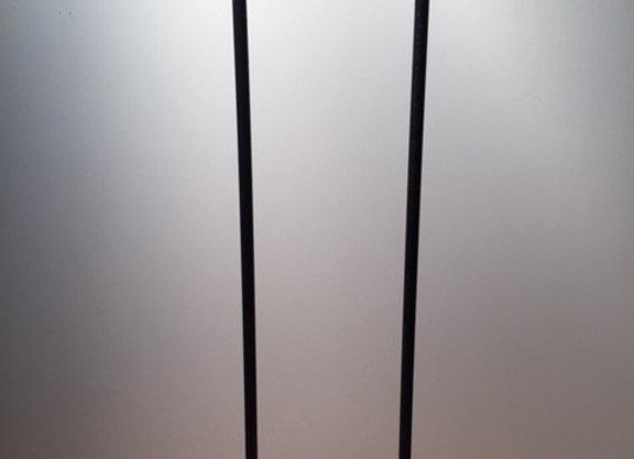 HAIRPIN LEGS DEUX BRANCHES EN CARRE DE 12 MM