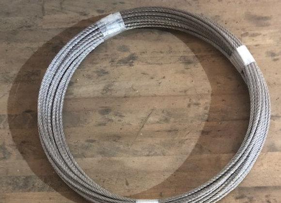 20m câble inox 6mm cordage torons 7x7