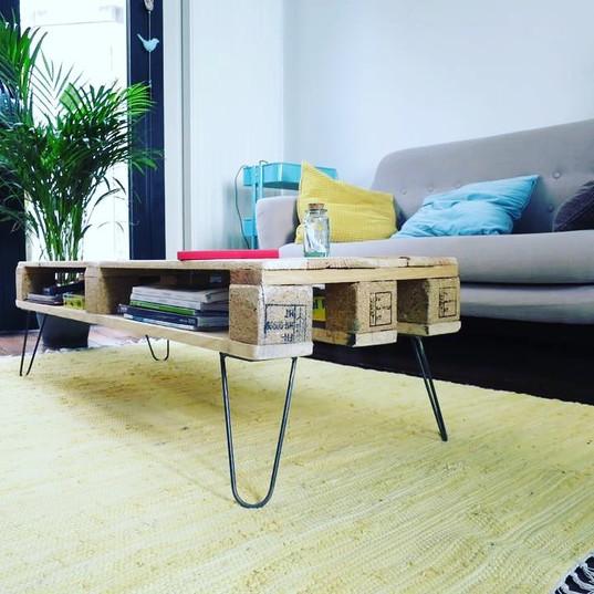 table palette bois