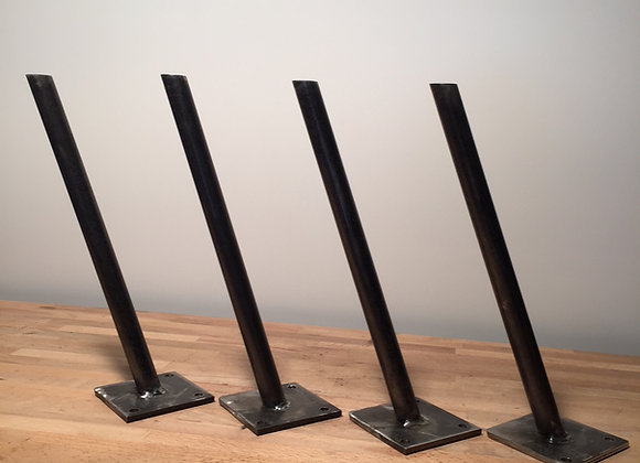 4 PIEDS DE TABLE MODELE ENFILADE hauteur 40 cms