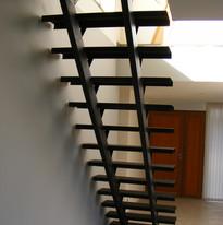 escalier double limon