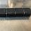 Thumbnail: LOT DE 4 BOUCHONS PLASTIQUE DE TUBE CARRE 40X40