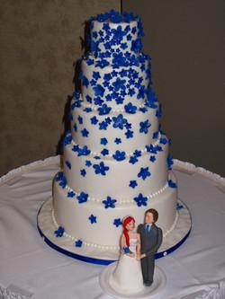 gâteau de mariage, 100 personnes