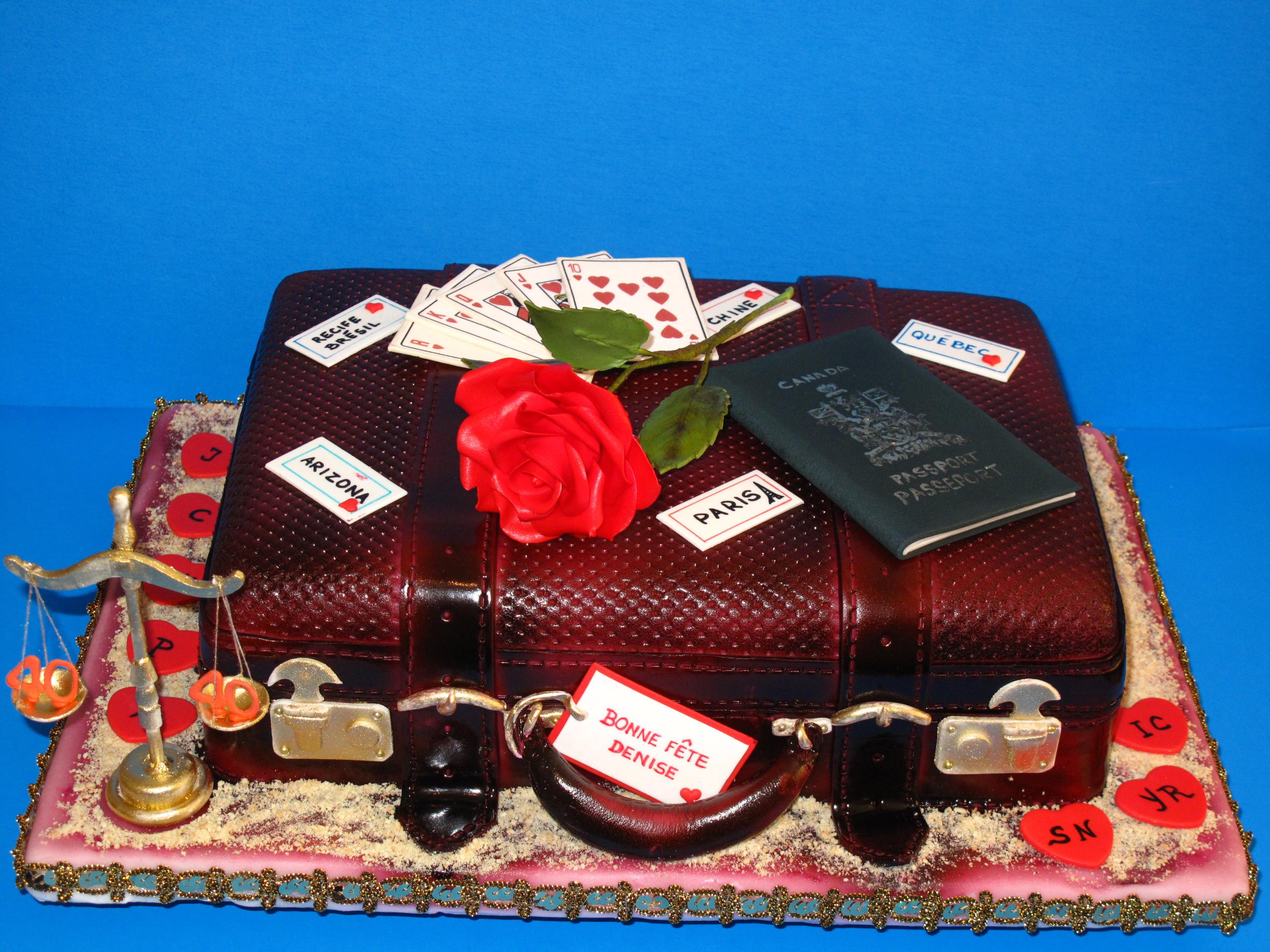 La valise pour chère Denise