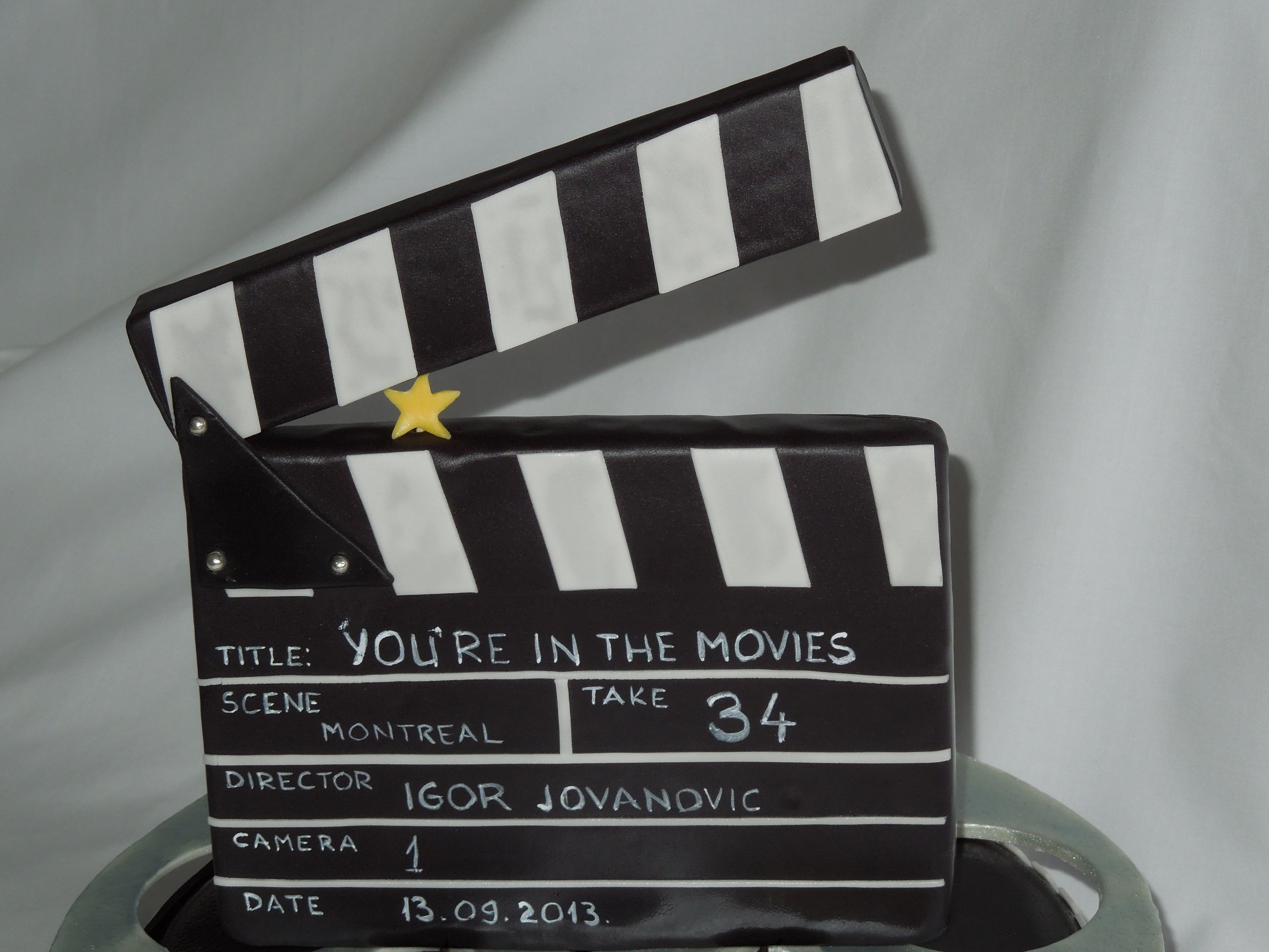 you`re in the movies