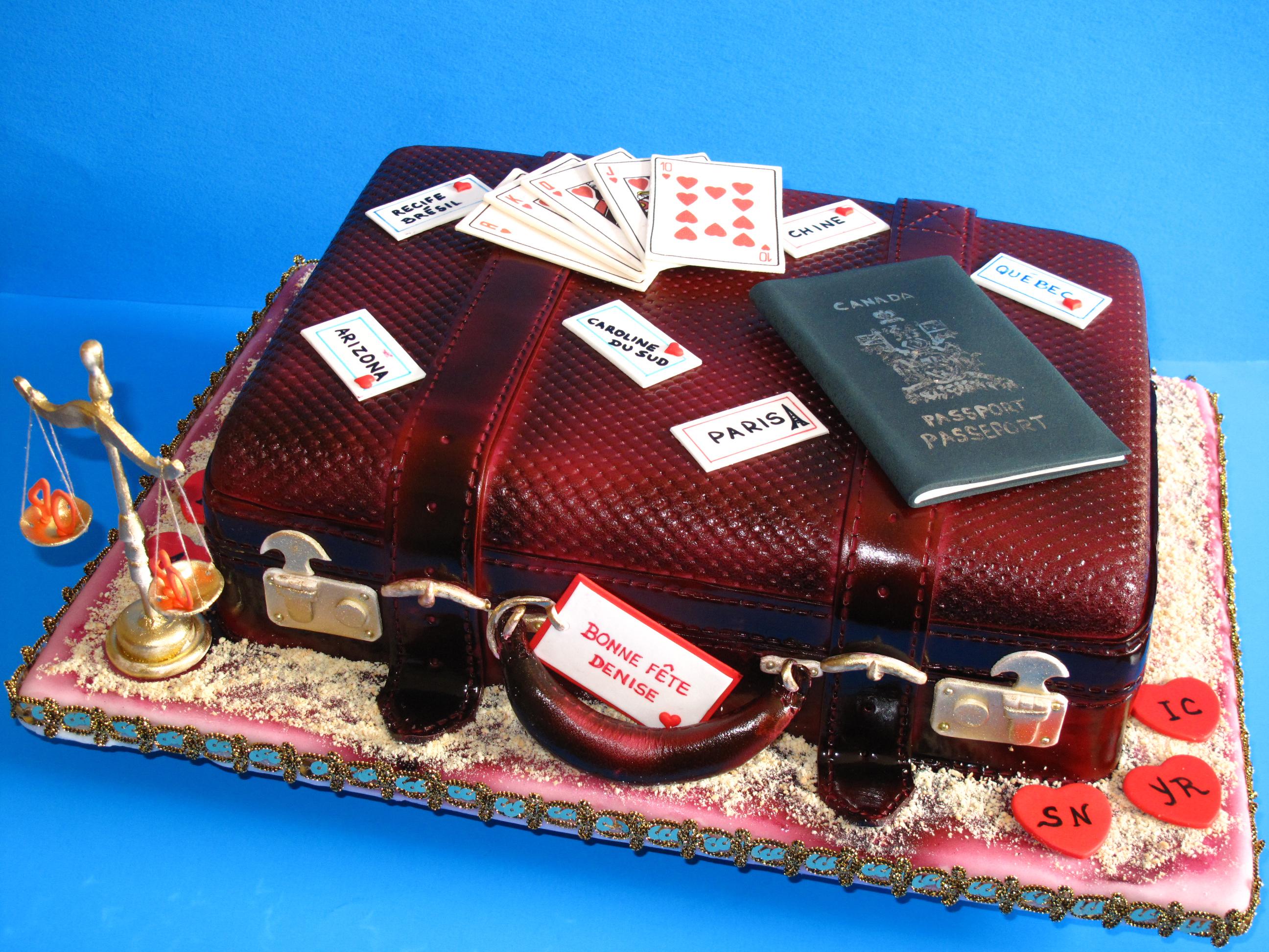 La valise pour Denise