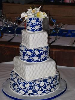 Gâteau de mariage , 150 personne