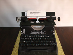 Machine à écrire Imperial 1950