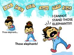 I Cannot Stand Those Elephants! 2015