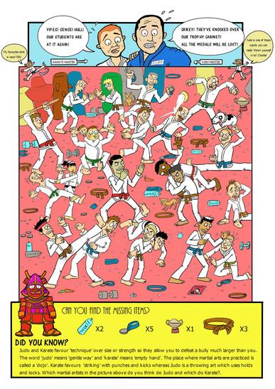 Martial Arts Madness! 2016