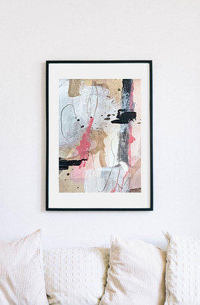 Abstract Framed