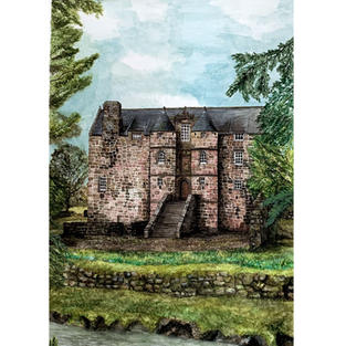 Rowallan Old Castle, Ayrshire