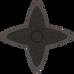 8月22日(日) 忍者の日              手裏剣投げサービスデーです