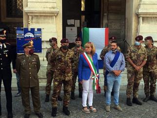76° Anniversario della Battaglia di Filottrano - Cerimonia commemorativa.