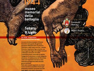 Filottrano 1944 - Museo Memorial della Battaglia inaugurazione sabato 8 luglio 2017