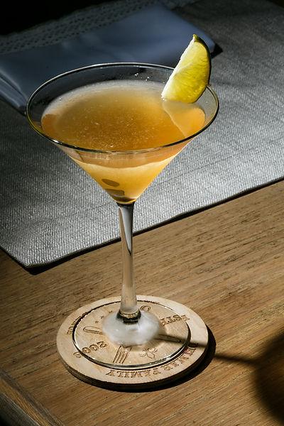 Un verre de cocktail
