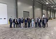 Radius Indiana Hosts Tour of Washington Shell Building