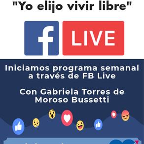 Facebook Live con Gabriela Torres