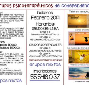 Grupos psicoterapéuticos de codependencia