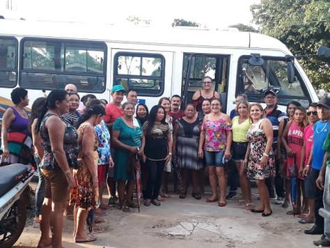 SECRETARIA MUNICIPAL DE ASSISTÊNCIA SOCIAL PROMOVE PASSEIO COM IDOSOS DE TARAUACÁ