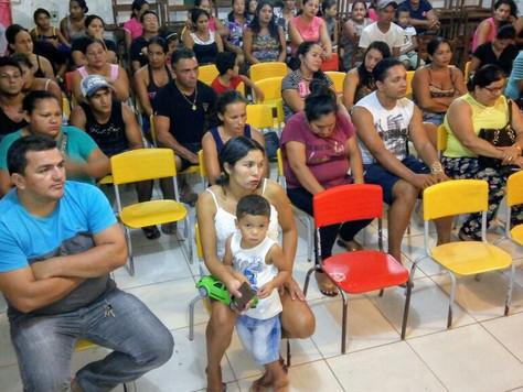 PREFEITA MARILETE E COMUNIDADE DA ESCOLA VALDINA TORQUATO DEFINEM DATA DE INAUGURAÇÃO DA UNIDADE