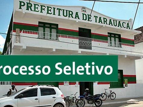 TARAUACÁ: PREFEITURA ANUNCIA PROCESSO SELETIVO PARA SECRETARIA DE EDUCAÇÃO COM SALÁRIOS DE ATÉ R$ 1.