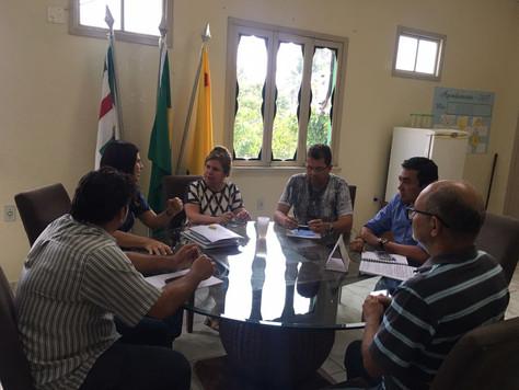 PREFEITA MARILETE DISCUTE CONSÓRCIO DE ATERRO SANITÁRIO COM CIDADES REGIONAIS